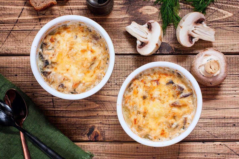 Жульен в горшочках - как готовить со сметаной, сливками, свининой или шампиньонами