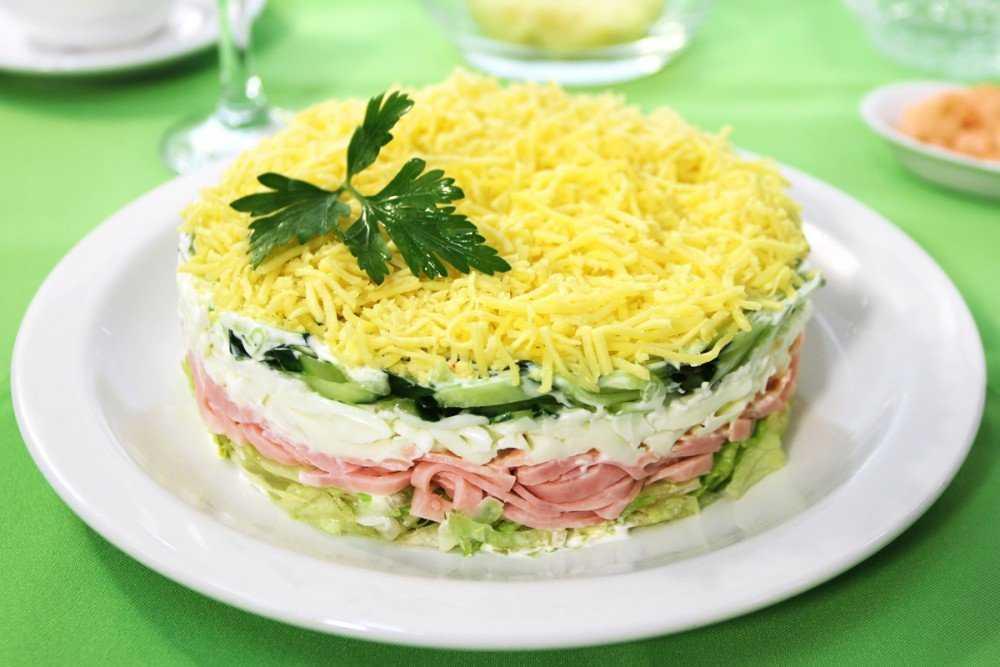 Диетический салат «весна»: 8 рецептов, включая классический
