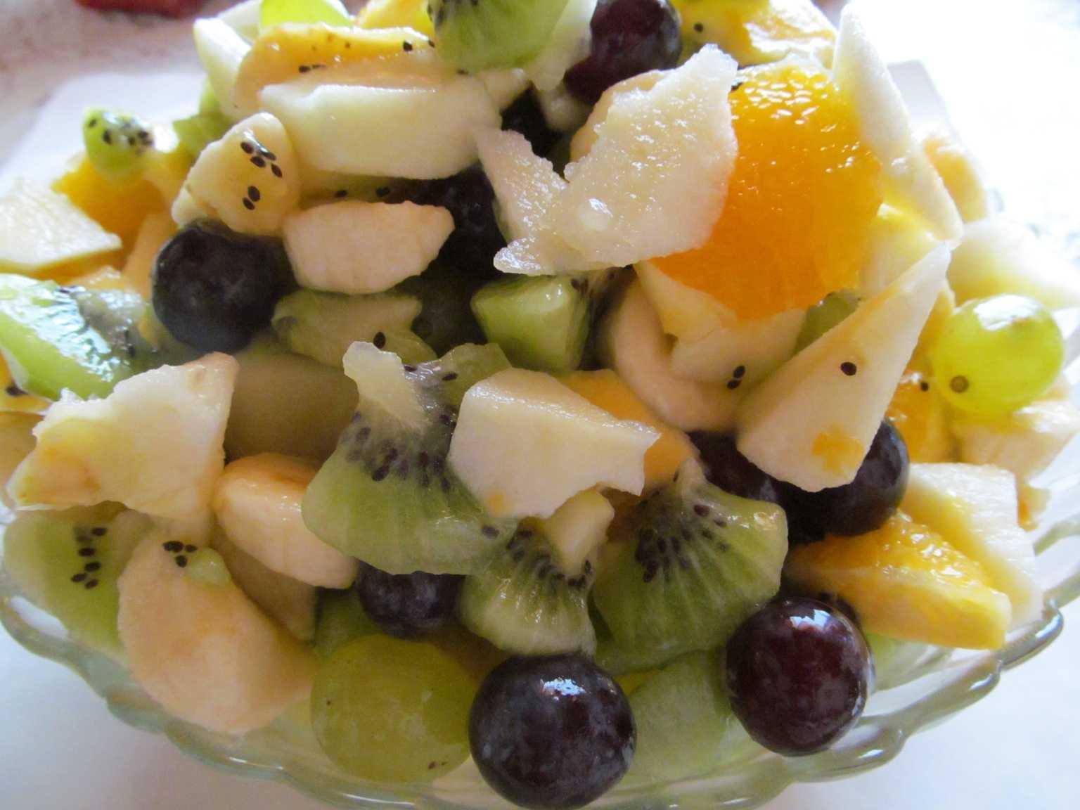 Фруктовый салат — 11 простых и вкусных рецептов