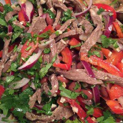 Как приготовить салат тбилиси: классический и другие рецепты с пошаговой инструкцией и фото