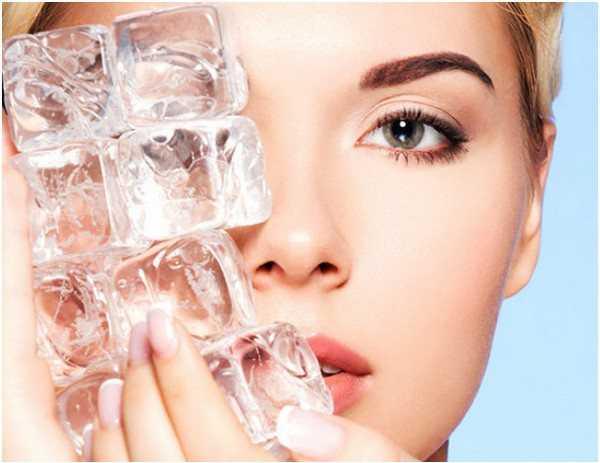 Кубики льда для лица: рецепты, зачем протирать ими лицо, польза и противопоказания — секреты красоток