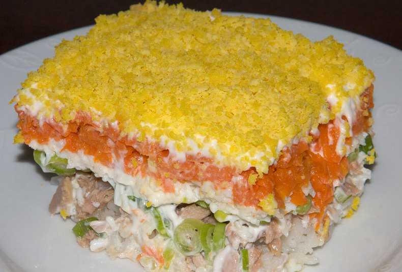 Рецепт салата мимоза из рыбной консервы - хх классических пошаговых рецептов с фото