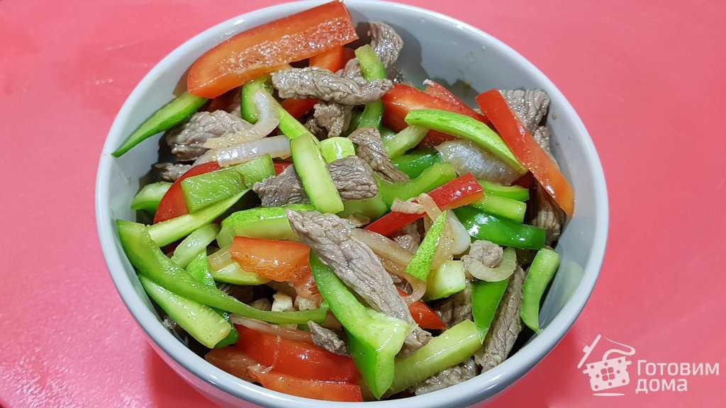 Мясо с огурцами по-корейски. рецепт с пошаговыми фото