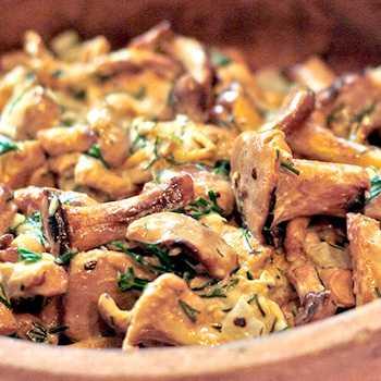 Как приготовить лисички, жареные с луком: фото, рецепты жарки грибов для начинающих хозяек