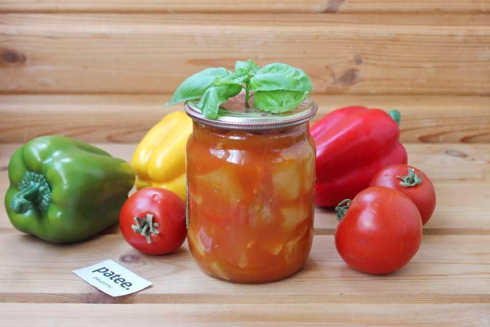 Лечо с томатной пастой: варианты приготовления, ингредиенты, фото.