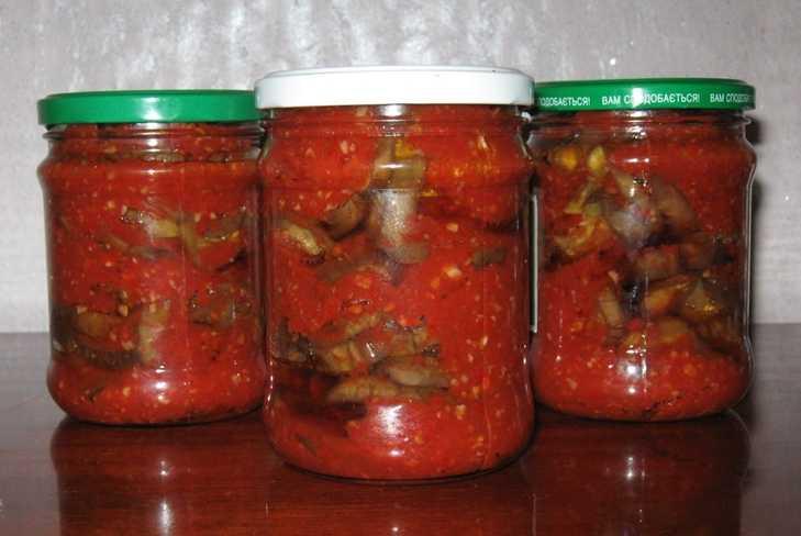 8 невероятно вкусных рецептов баклажанов с аджикой на зиму