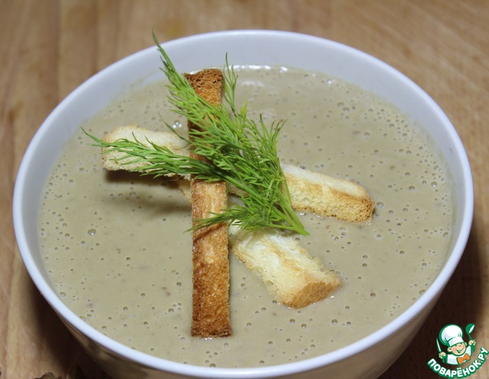 Как приготовить крем-суп из белых грибов: фото, видео, рецепты вкусных первых блюд