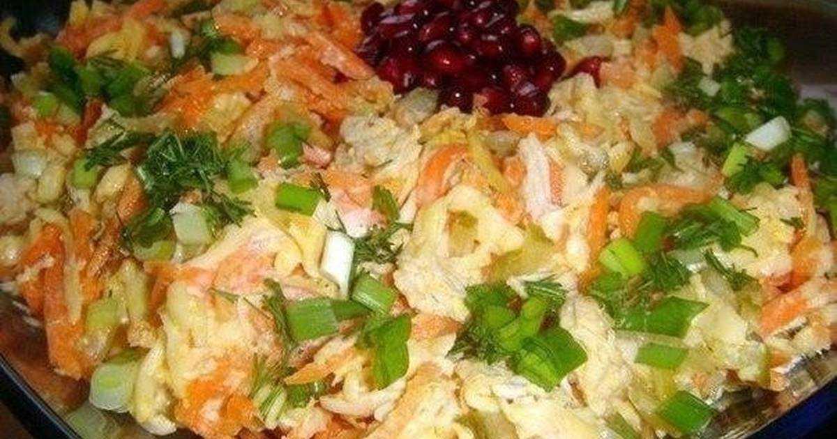 Салат лисья шубка - 6 рецептов с грибами, селедкой, морковью, с фото