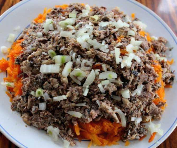 Салат из сайры консервированной: рецепты с фото пошагово
