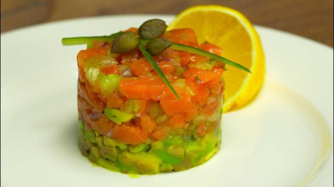 Рецепты тартар из лосося и авокадо
