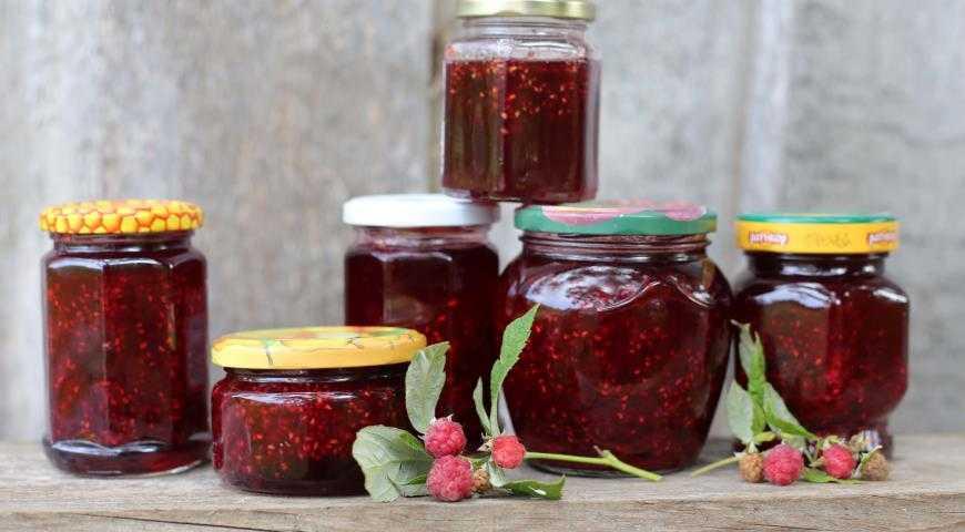 Варенье из малины с целыми ягодами: рецепты, как сварить густой малиновый джем