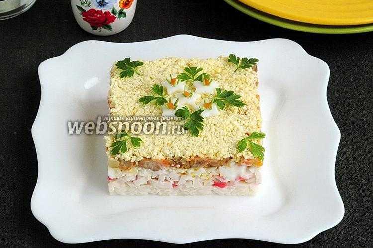 Вариации салата с грибами и крабовыми палочками: рецепты с фото