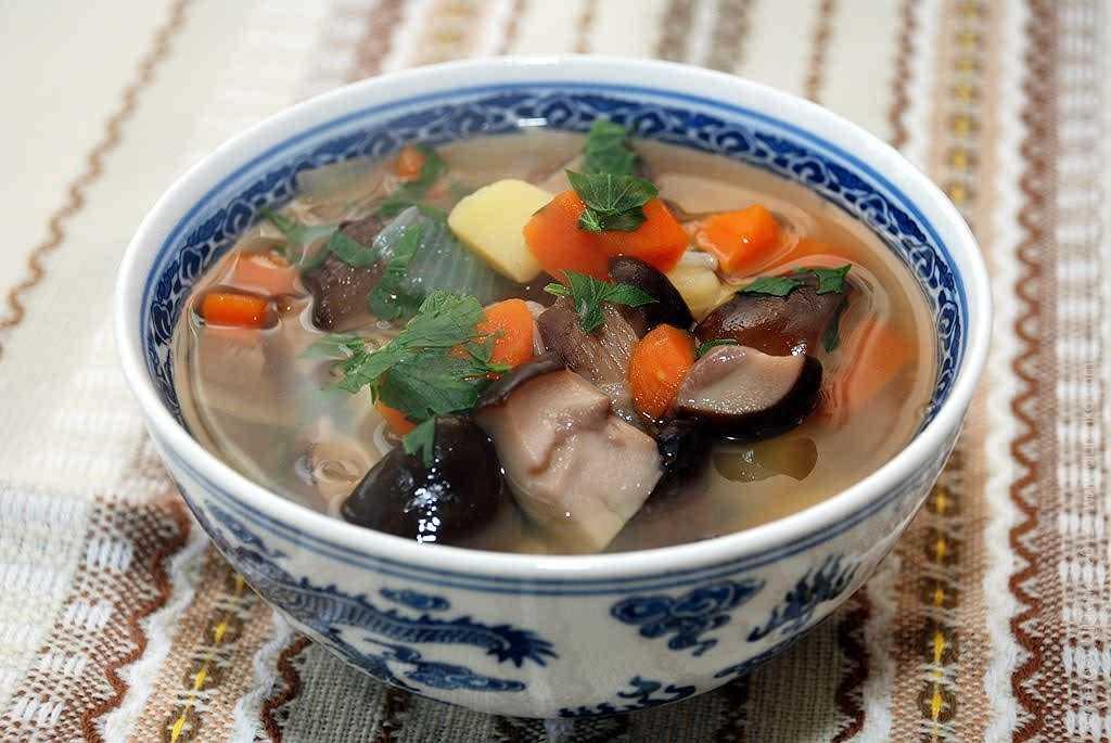 Суп-пюре луково-грибной в мультиварке рецепт с фото пошагово - 1000.menu