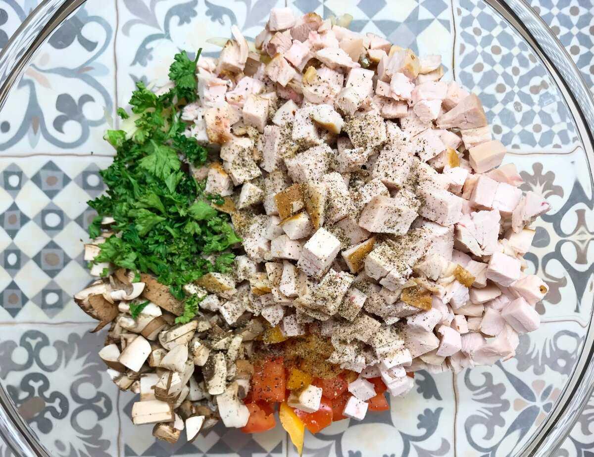 Салат курица под кайфом - рецепт с фото. модный салат новинка 2019 года | народные знания от кравченко анатолия