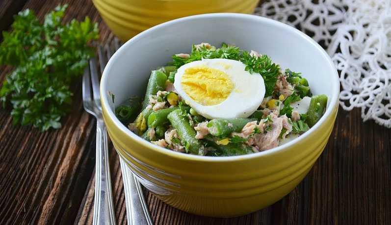 Салат с тунцом и фасолью: 6 лучших рецептов