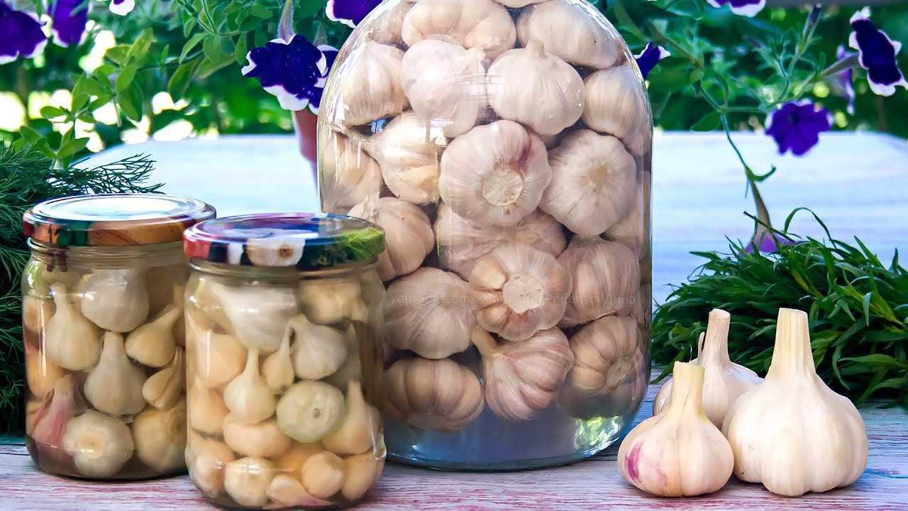 Маринованный чеснок на зиму без стерилизации - рецепт с фото пошаговый