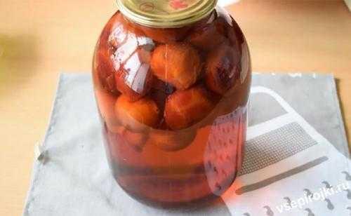 Компот из груш на зиму - простые рецепты