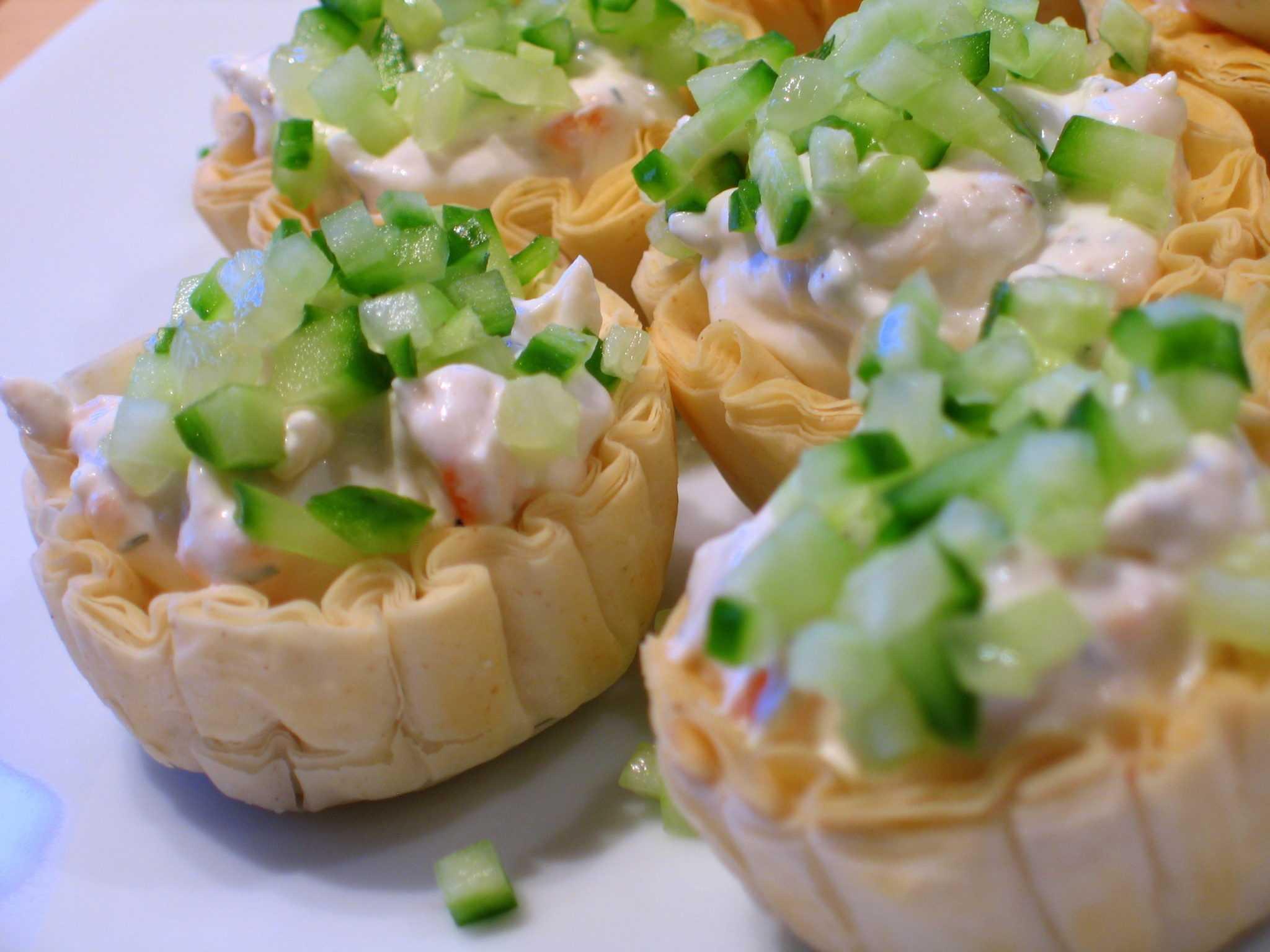 Тарталетки с креветками - 75 рецептов: тарталетки   foodini