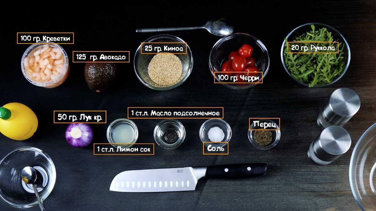 Салат из креветок авокадо и огурца рецепт с фото пошагово - 1000.menu