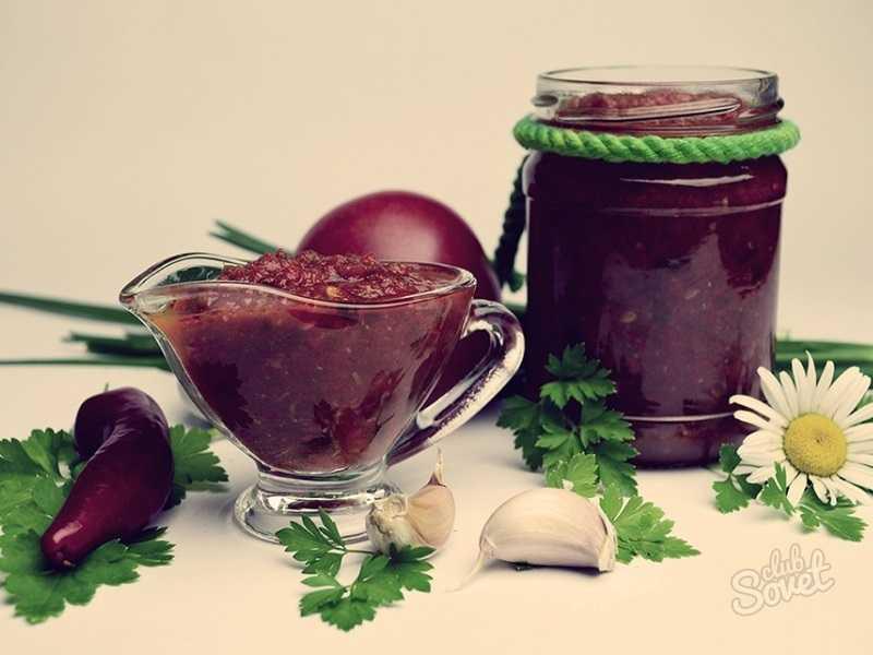 Соус из терна на зиму: рецепты простые с фото пошагово