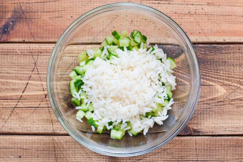 12 вкуснейших рецептов крабового салата без риса