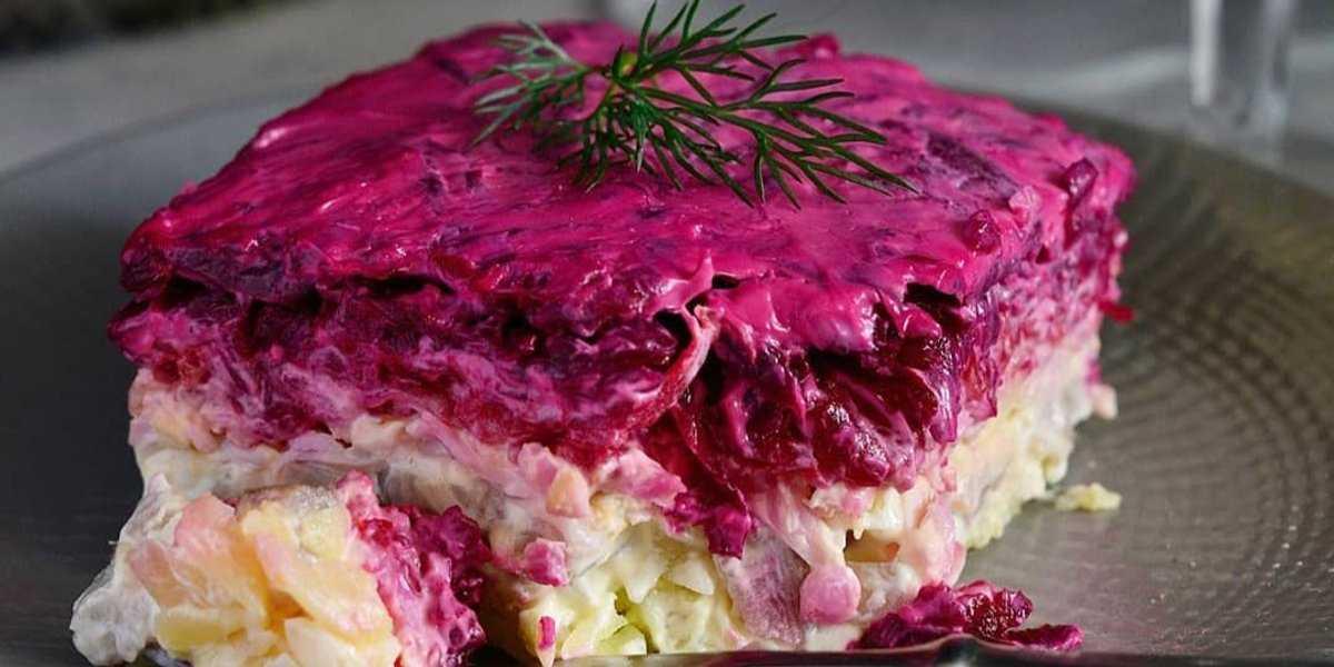 Салат «королевская шуба»: рецепт и некоторые хитрости приготовления блюда, правила выбора рыбных продуктов