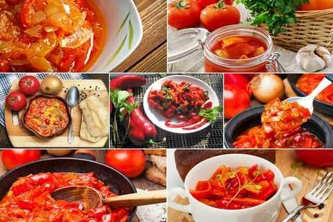Лечо из болгарского перца с томатной пастой - рецепты на зиму по домашнему