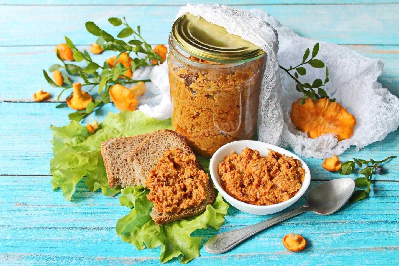 Икра из лисичек - лучшие рецепты приготовления грибной закуски