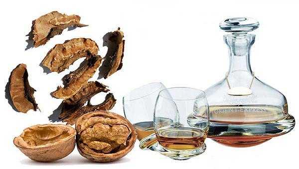 Настойка на скорлупе макадамии, грецких, кедровых, фисташковых, лесных орехов: применение от простатита и других недугов, рецепты на водке, самогоне или спирту