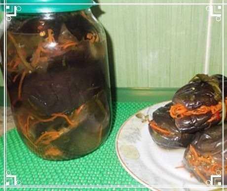 Эти маринованные баклажаны можно есть уже через пару часов после приготовления