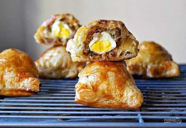 Пирожки с опятами рецепт с фото