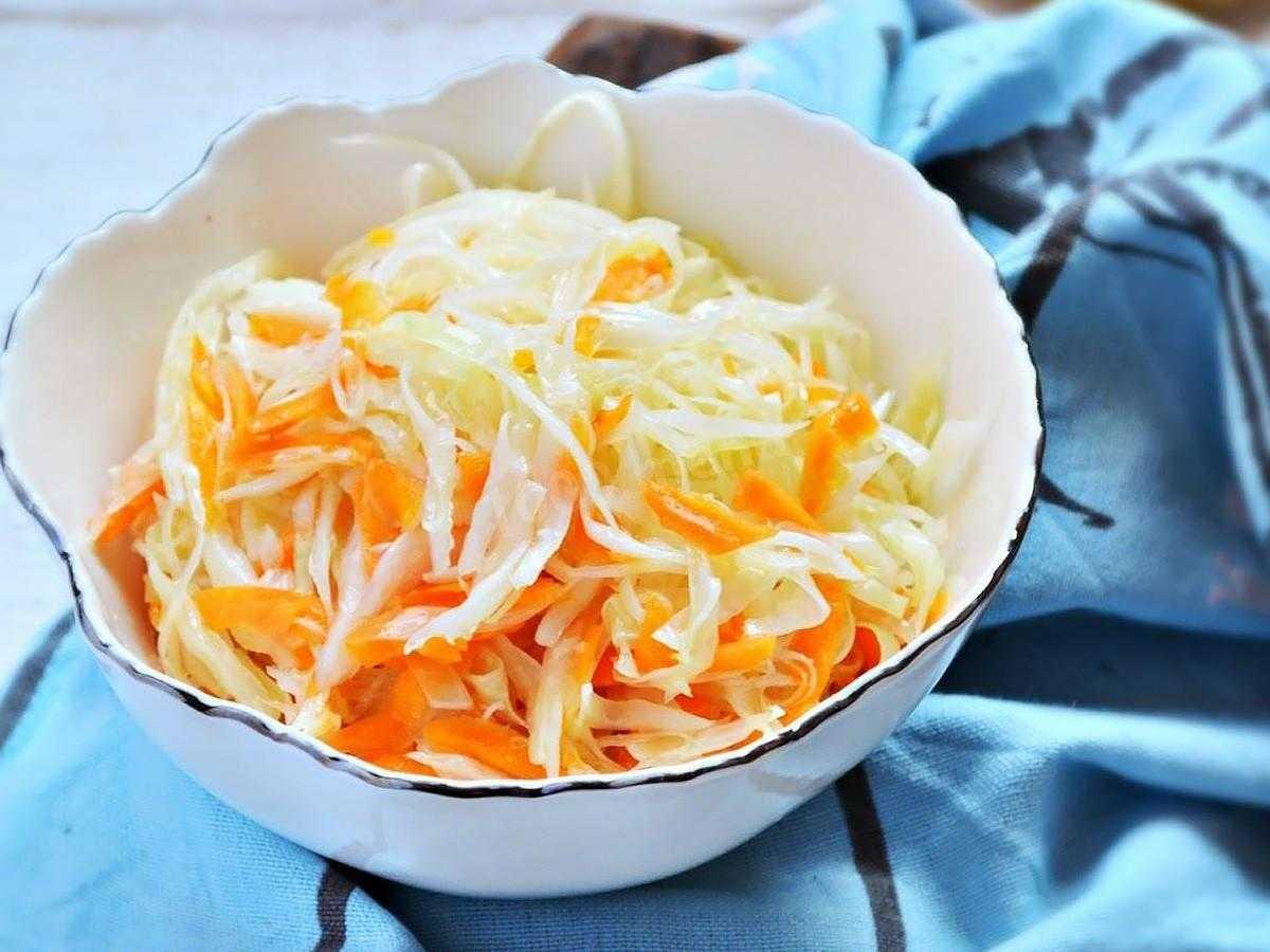 Маринованная капуста быстрого приготовления — самые вкусные рецепты