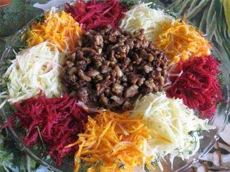 Самые вкусные рецепты салата «чафан»: топ-10 лучших