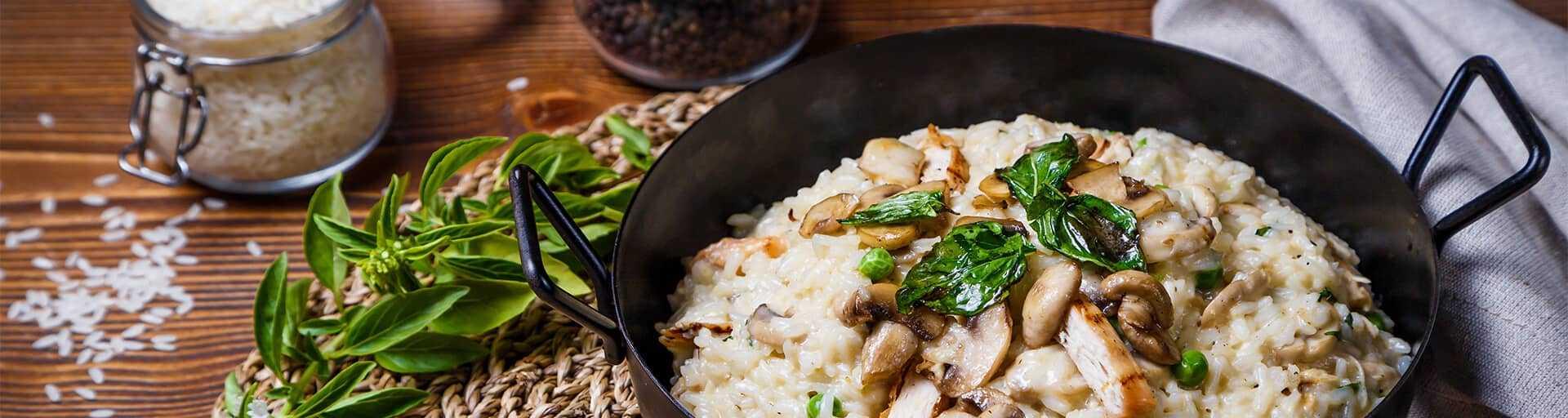 Ризотто с грибами — 7 домашних рецептов