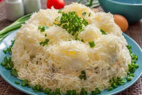 Вкусный салат сугроб – рецепты для дома