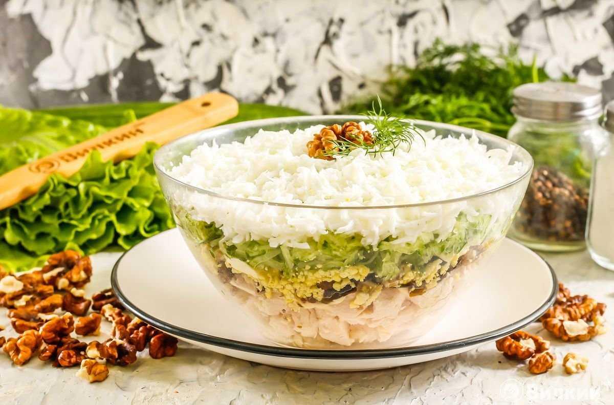 Легкий салат «весна»: классический рецепт и еще 7 вариантов