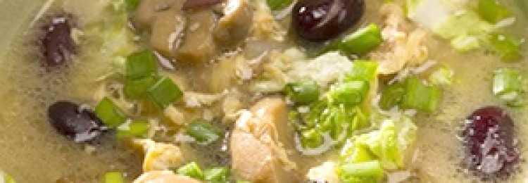 Грибной крем-суп: калорийность на 100 грамм и пищевая ценность блюда
