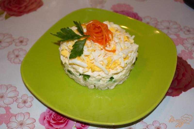 Салат с плавленным сыром и чесноком рецепт с фото - 1000.menu