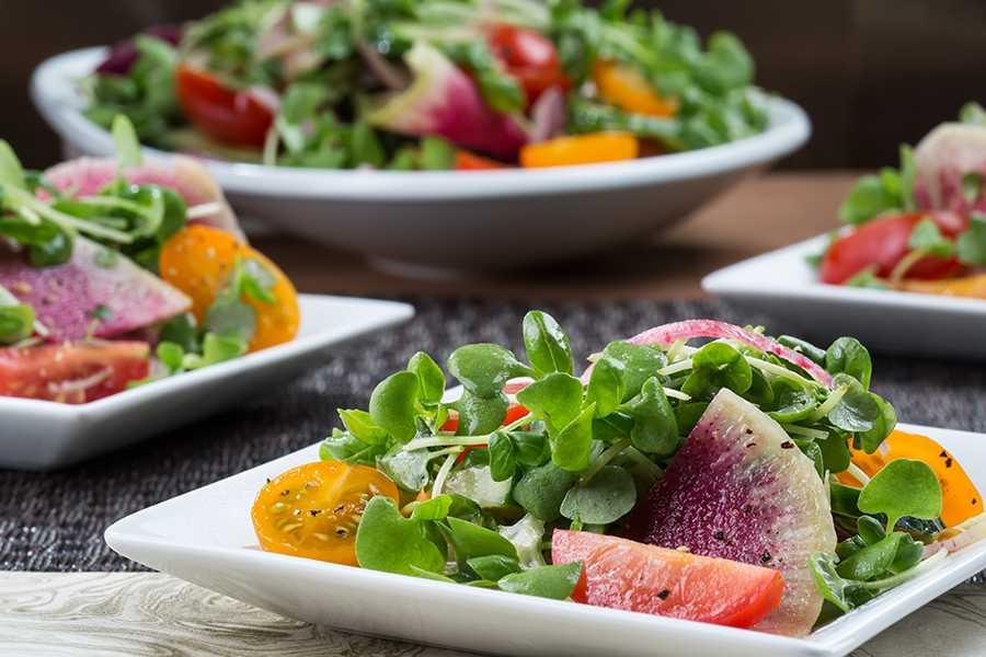 Салат летний — лучшие рецепты. как правильно и вкусно приготовить летний салат.