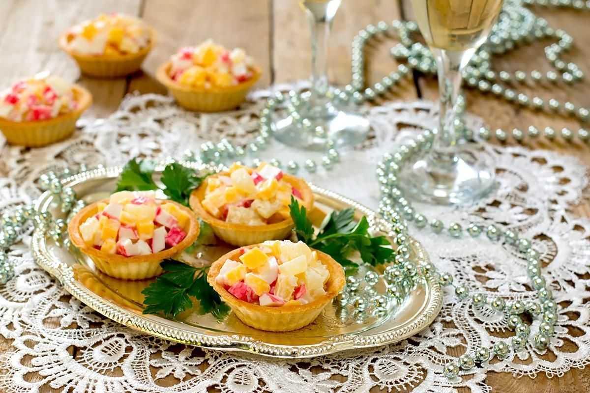 Тарталетки с кальмарами: пошаговый рецепт с фото