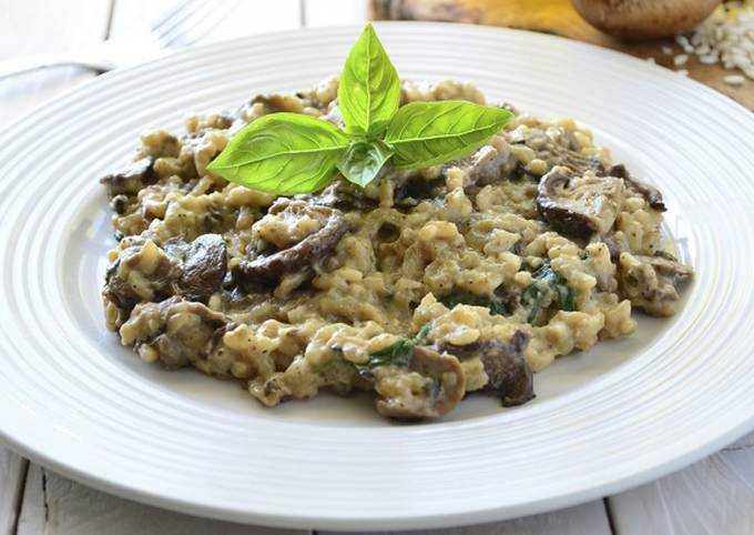 Ризотто с курицей и грибами - вкусные рецепты отменного итальянского блюда