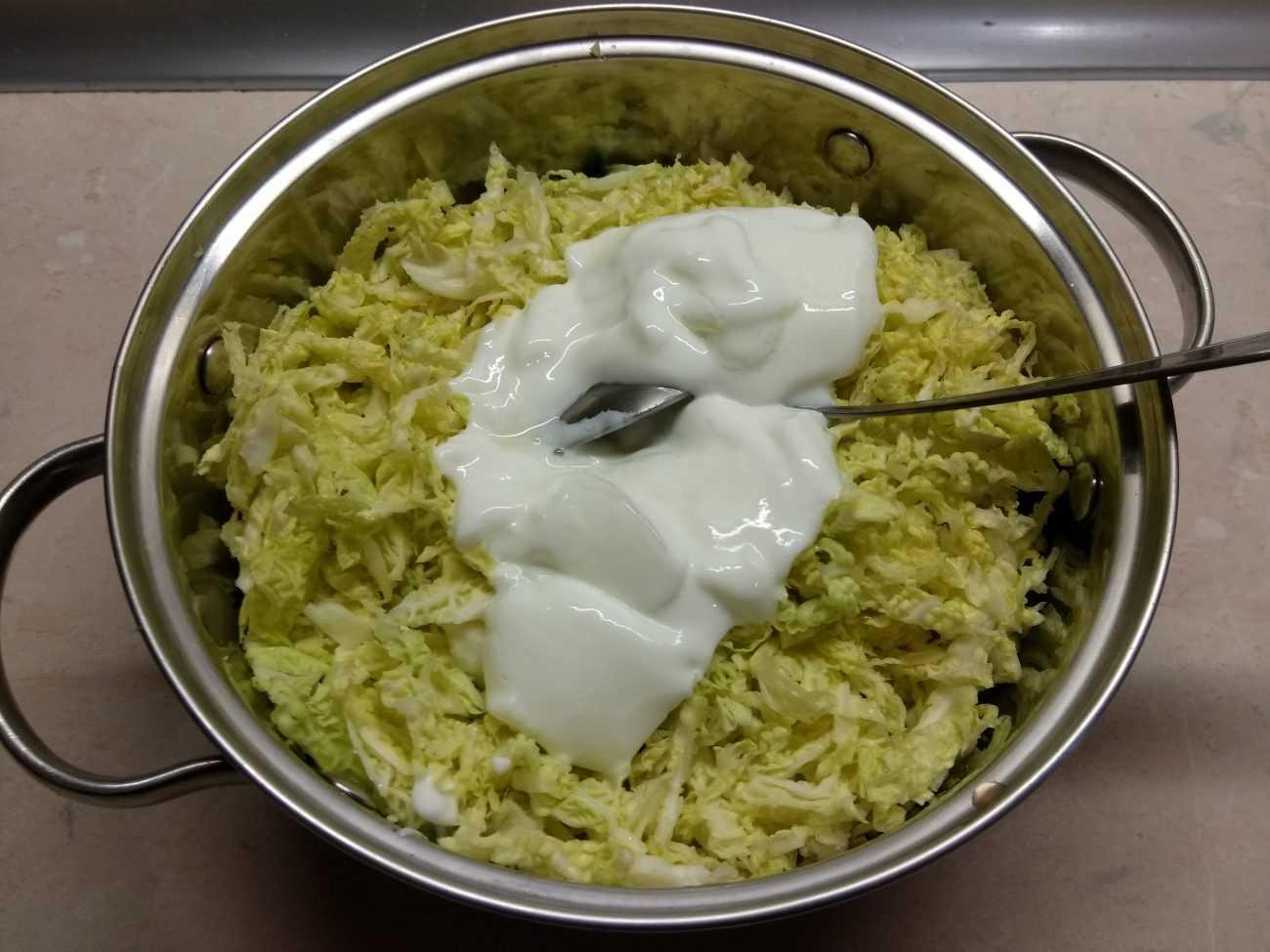 Салат с капустой и яблоком - рецепт с пошаговыми фото   ne-dieta