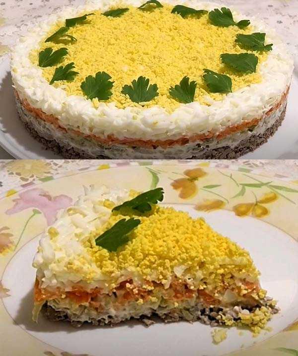 Салат печенкин с куриной печенью рецепт с фото пошагово - 1000.menu