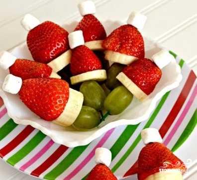 33 простых рецепта канапе на шпажках к праздничному столу