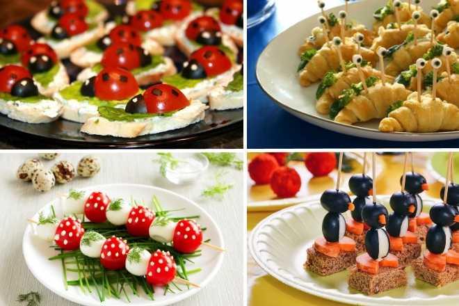 Канапе из фруктов – на заметку хозяйке: рецепт с фото и видео