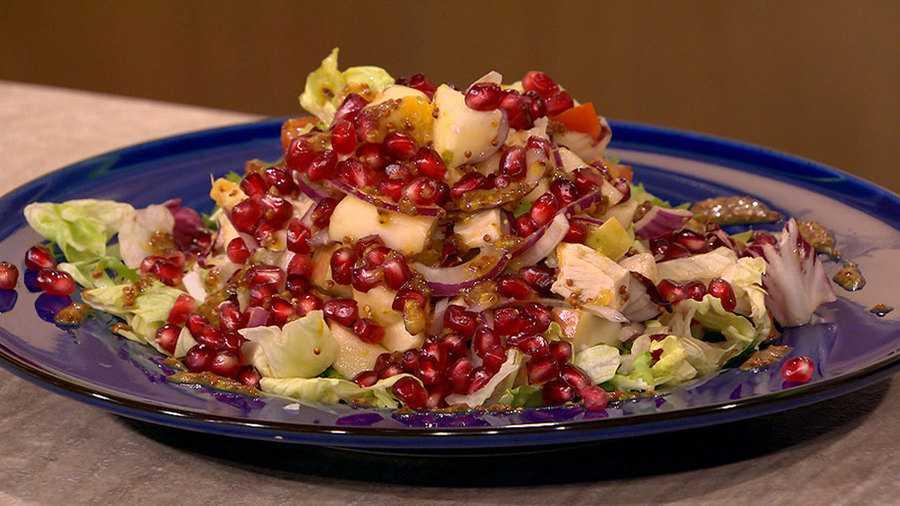 Салат с говядиной и гранатами рецепт с фото пошагово - 1000.menu