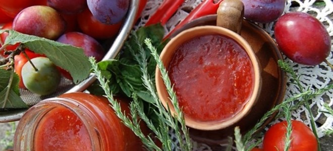 Соус ткемали из сливы на зиму в домашних условиях 10 рецептов - 1000.menu