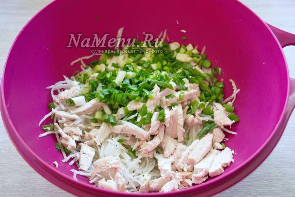 Салат «ташкент» : рецепт приготовления оригинального блюда из редьки и говядины
