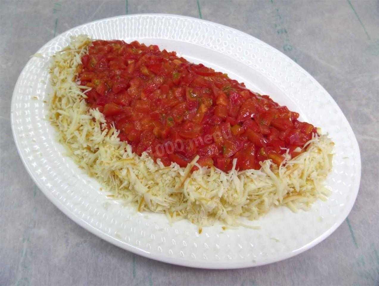 Салат «арбузная долька» - рецепт с фотографиями - patee. рецепты