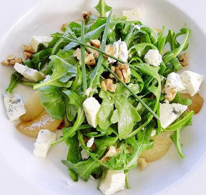 Салат с грушей - 30 рецептов приготовления пошагово - 1000.menu